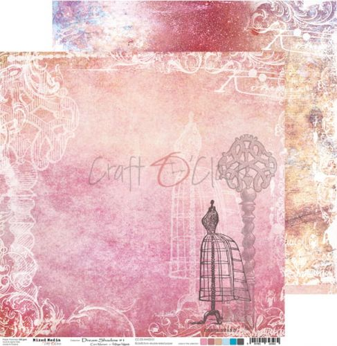 papier scrapbook Craft o'clock - dream shadow 01