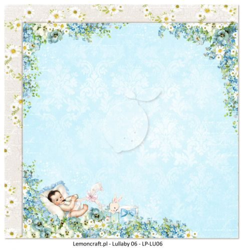 papier scrapbook LemonCraft - lullaby 06