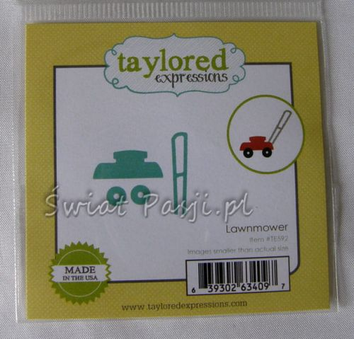 wykrojnik Taylored expressions - lawnmover [TE592]