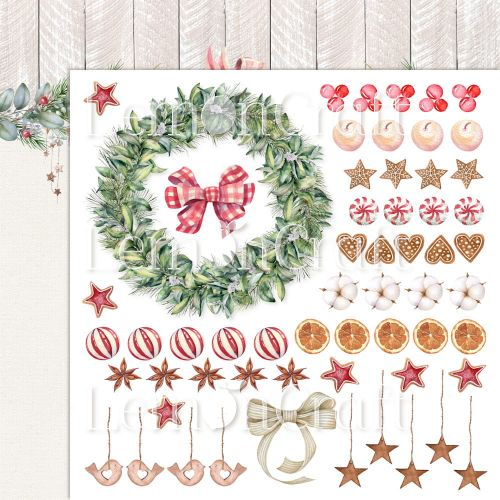 papier scrapbook LemonCraft - this christmas 04