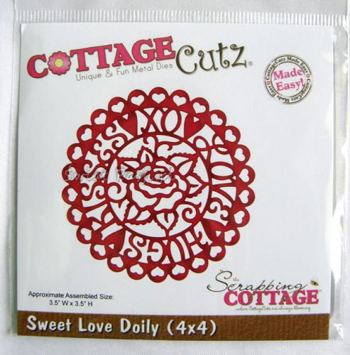 wykrojnik Cottage Cutz - sweet love doily [561]