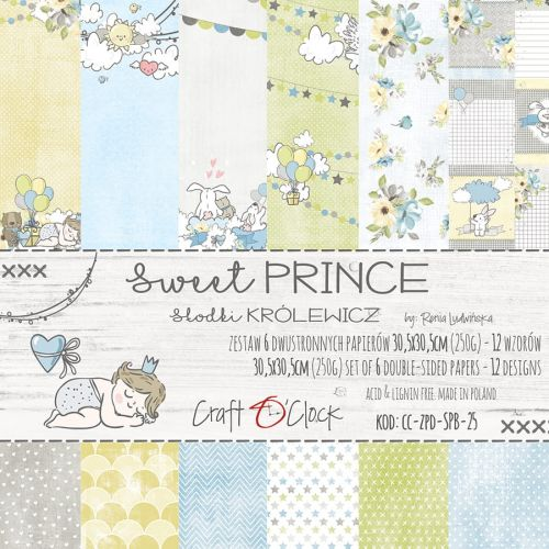 "papier scrapbook Craft o'clock - sweet prince [zestaw 12"" x 12""]"