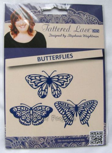 wykrojnik Tattered Lace - butterflies [D466]