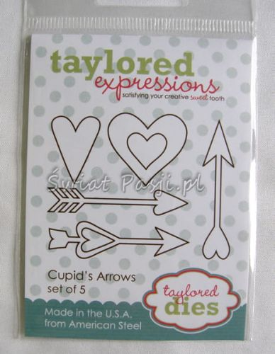 wykrojnik Taylored expressions - cupid's arrows