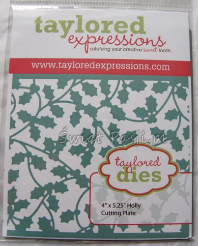 wykrojnik Taylored expressions - holly cutting plate