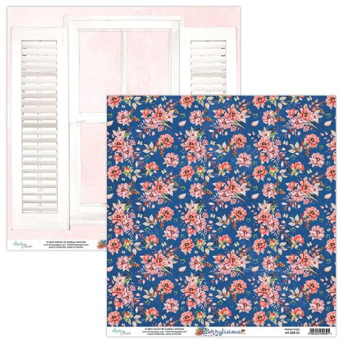 papier scrapbook Mintay Papers - berrylicious 05
