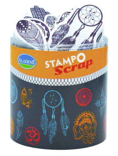 stemple Aladine - stamp O scrap: native