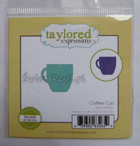 wykrojnik Taylored expressions - coffee cup