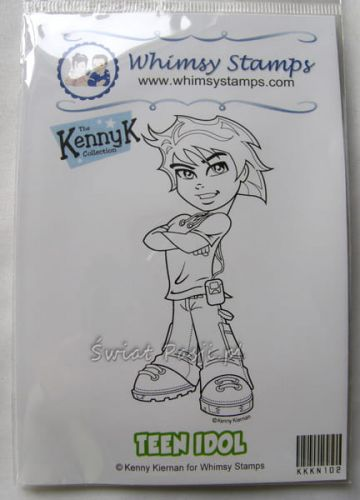 stempel gumowy KennyK - teen idol