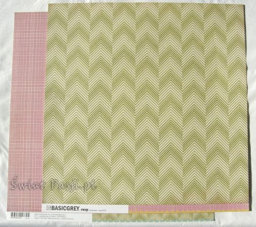 papier scrapbook Basic Grey - rsvp [SVP-4379]