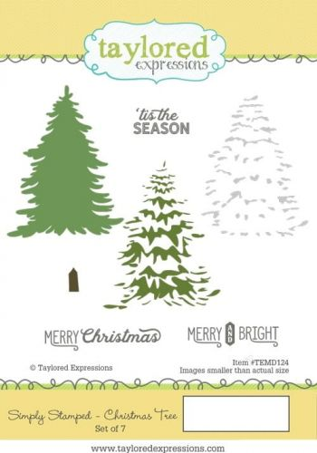 stemple gumowe Taylored expressions - christmas tree [TEMD124]