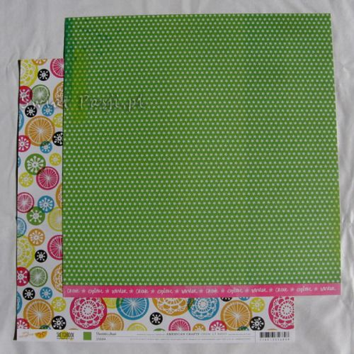 papier scrapbook American Crafts - sketchbook [35684]