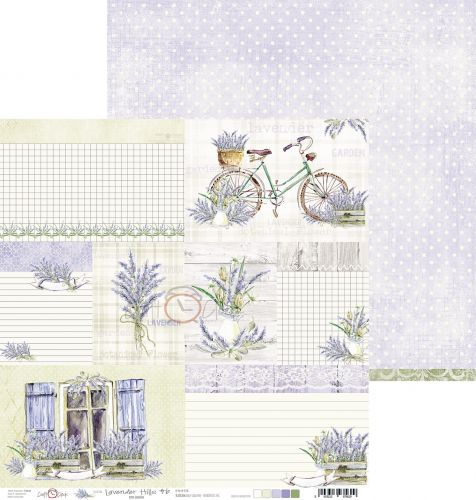 papier scrapbook Craft o'clock - lavender hills 06