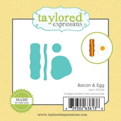 wykrojnik Taylored expressions - bacon & egg