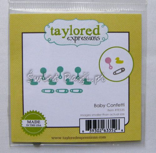 wykrojnik Taylored expressions - baby confetti [TE535]