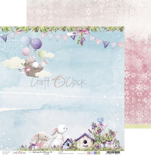 papier scrapbook Craft o'clock - spring bustling 04