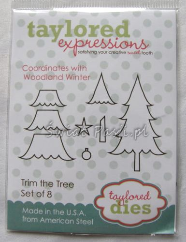 wykrojnik Taylored expressions - trim the tree