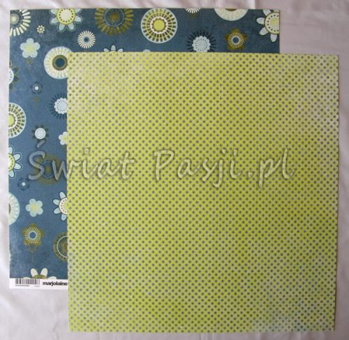 papier scrapbook Basic Grey - marjolane [MRJ-2909]