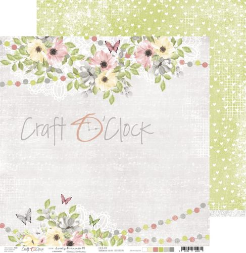 papier scrapbook Craft o'clock - lovely princess 01