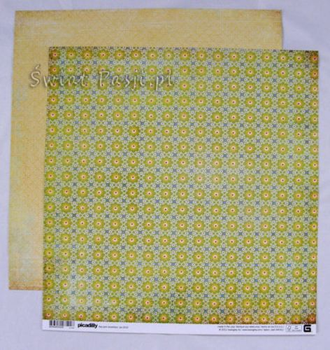 papier scrapbook Basic Grey - picadilly [pic-3522]