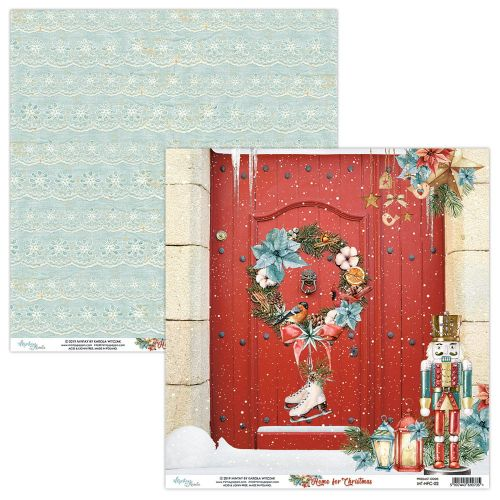 papier scrapbook Mintay Papers - home for christmas 02