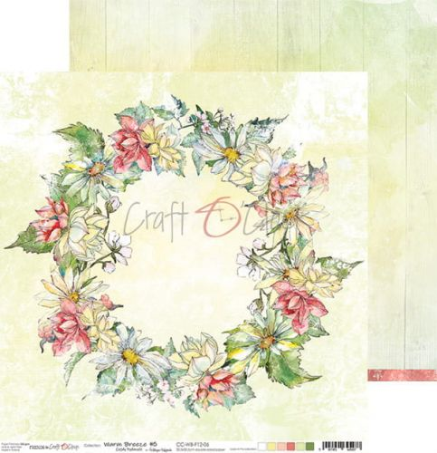 papier scrapbook Craft o'clock -  warm breeze 06